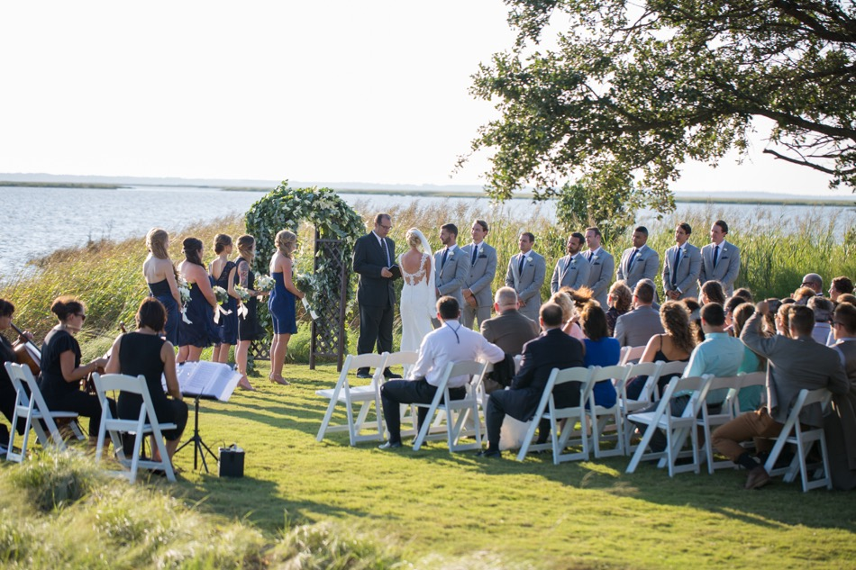 currituck club wedding reception