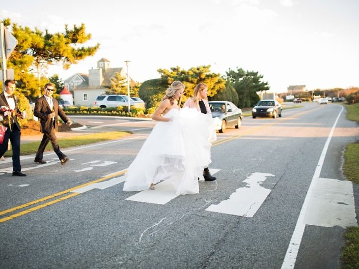 sanderling resort wedding walk